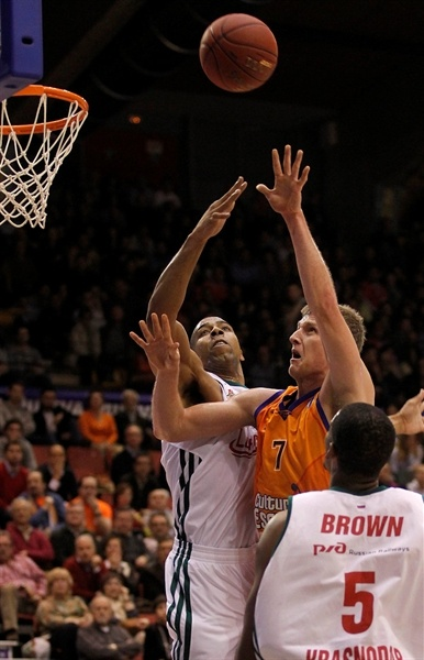 Justin Doellman - Valencia Basket - EC12 (photo Miguel Angel Polo - Valencia Basket)