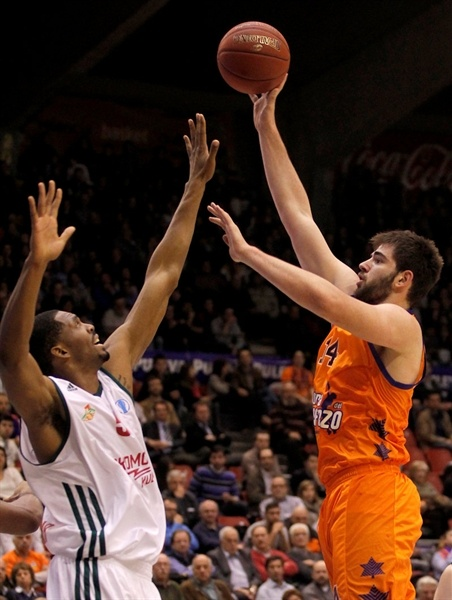 Bojan Dubljevic - Valencia Basket - EC12 (photo Miguel Angel Polo - Valencia Basket)