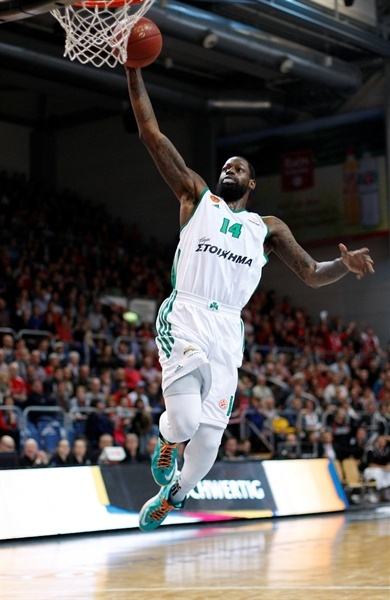 James Gist - Panathinaikos - EB12