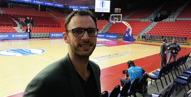 Tomas Van den Spiegel at the 2013 Eurocup Final Charleroi