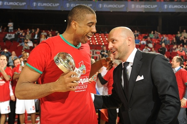 Richard Hendrix MVP Final - Lokomotiv Kuban - Final Charleroi 2013 - EC12
