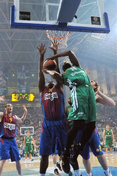 James Gist - Panathinaikos Athens - EB12
