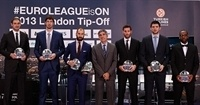 Vassilis Spanoulis, named bwin MVP of the 2012-13 Turkish Airlines Euroleague