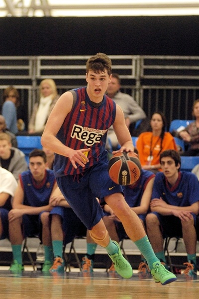 Mario Hezonja - JT Barcelona Regal - NIJT Final Four London 2013