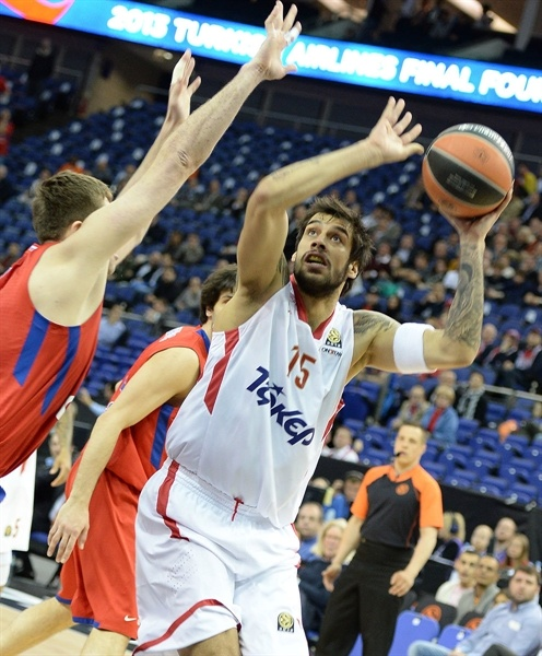 Georgios Printezis - Olympiacos Piraeus - Final Four London 2013