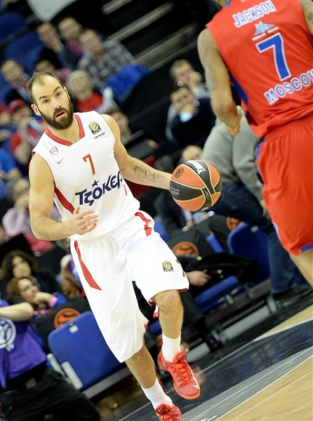 Vassilis Spanoulis - Olympiacos Piraeus - Final Four London 2013