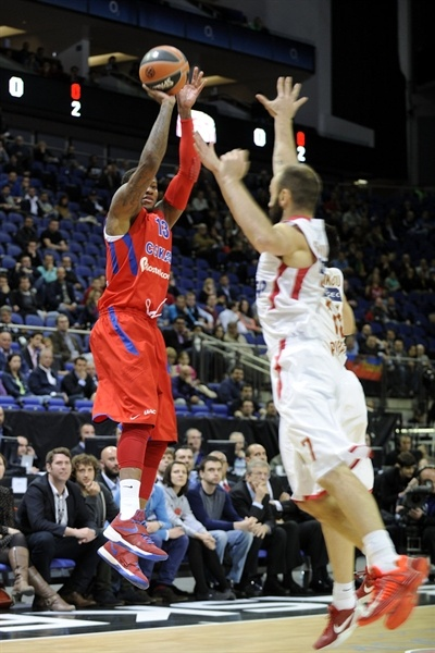 Sonny Weems - CSKA Moscow - Final Four London 2013