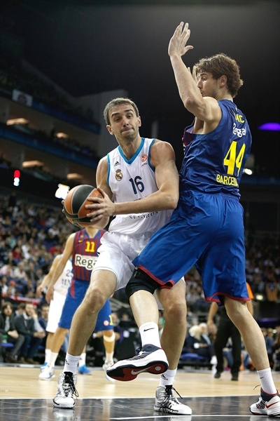 Mirza Begic - Real Madrid - Final Four London 2013