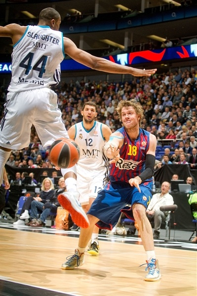 C.J. Wallace - FC Barcelona Regal - Final Four London 2013