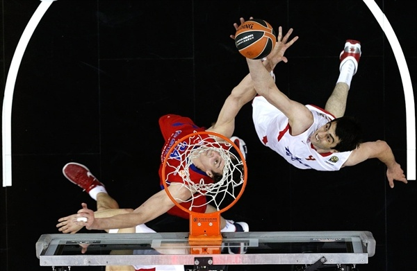 Giorgi Shermadini - Olympiacos Piraeus - Final Four London 2013