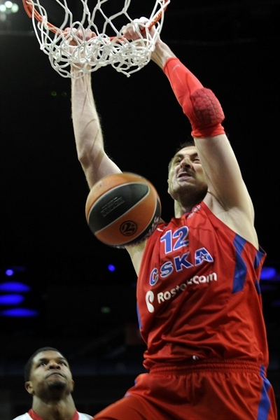 Nenad Krstic - CSKA Moscow - Final Four London 2013