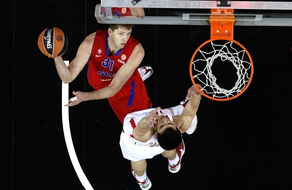 Victor Khryapa - CSKA Moscow - Final Four London 2013