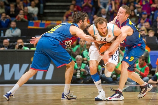 Sergio Rodriguez - Real Madrid - Final Four London 2013