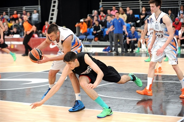 Doko Salic - JT OKK Spars Sarajevo - NIJT Final Four London 2013