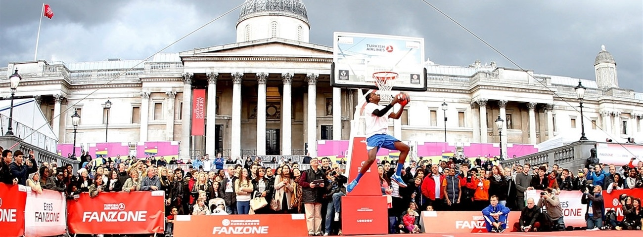 Turkish Airlines, basketball fans alike pleased with Fan Zone