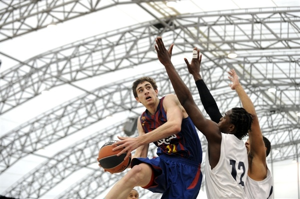 Adnan Omeragic  - JT Barcelona Regal - NIJT Final Four London 2013