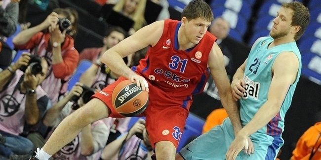 CSKA beats Barca to finish season on the podium