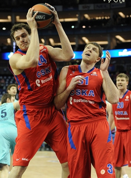 Sasha Kaun - CSKA Moscow - Final Four London 2013