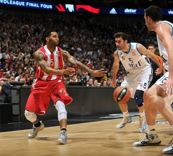 Acie Law - Olympiacos Piraeus - Final Four London 2013