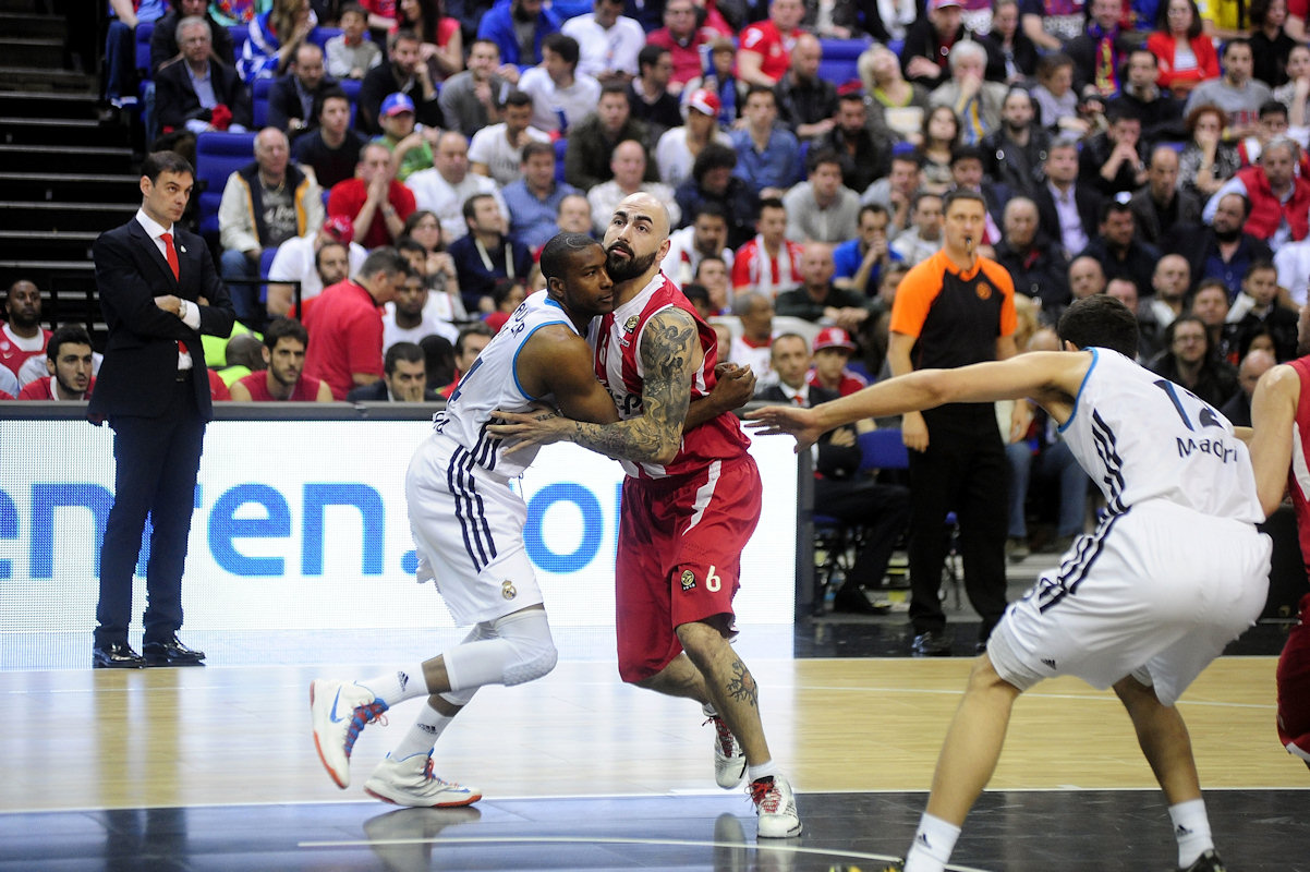 Pero Antic - Olympiacos Piraeus - Final Four London 2013