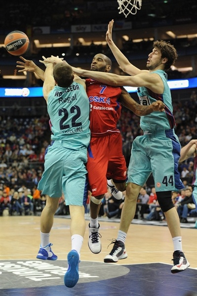 Aaron Jackson - CSKA Moscow - Final Four London 2013