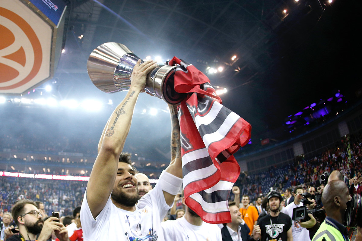Georgios Printezis - Olympiacos Piraeus champ - Final Four London 2013