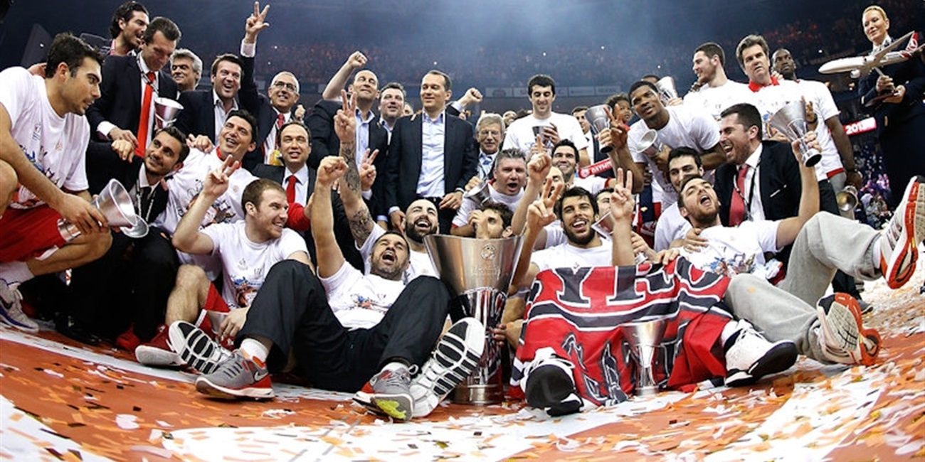 Olympiacos repeats as Euroleague champion!