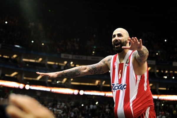 Pero Antic - Olympiacos Piraeus champ - Final Four London 2013