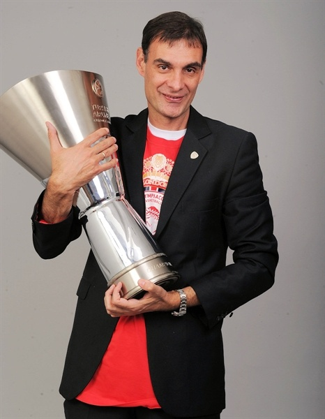 Georgios Bartzokas - Olympiacos Piraeus champ - Final Four London 2013