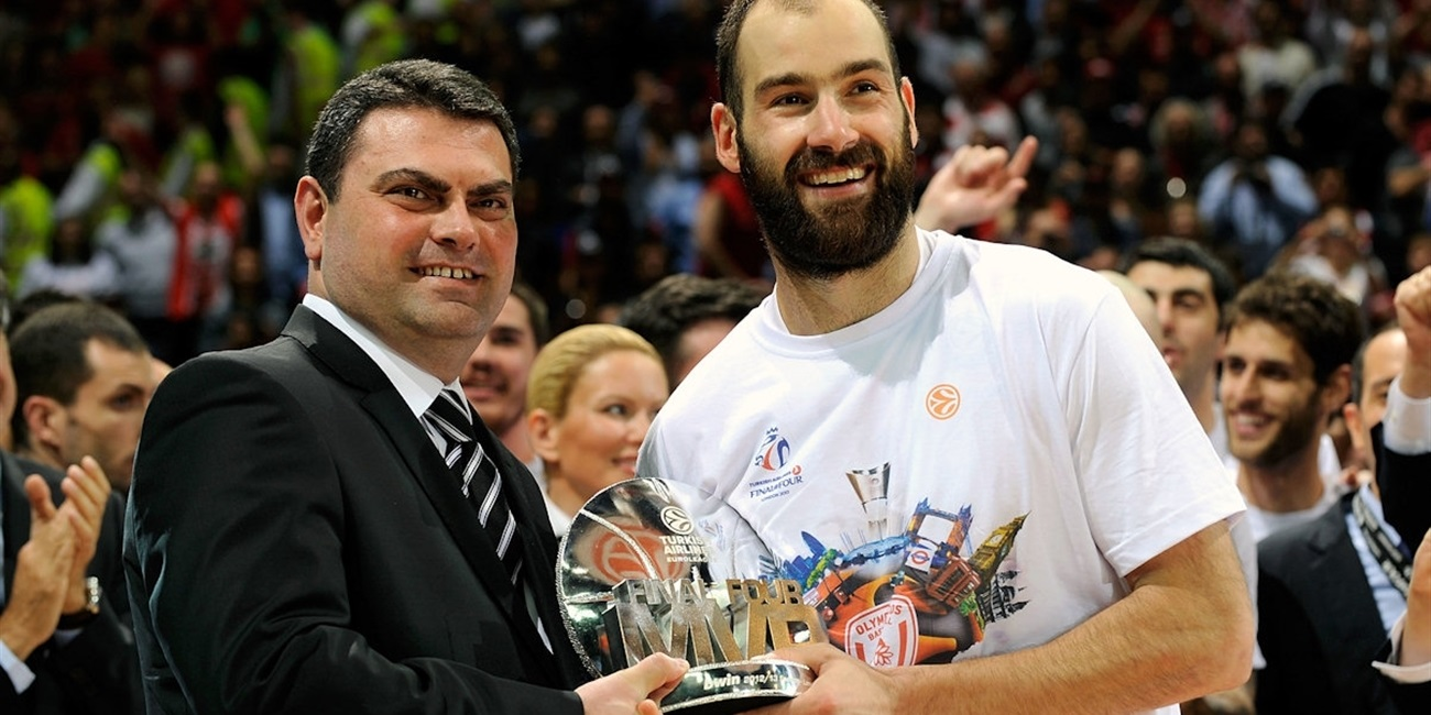 Spanoulis named bwin MVP of 2013 Final Four