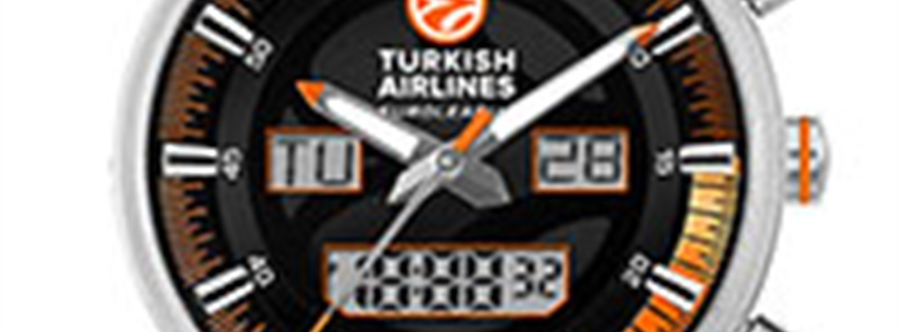 Jacques Lemans official Watch of the 2013 Turkish Airlines Euroleague Final Four in London