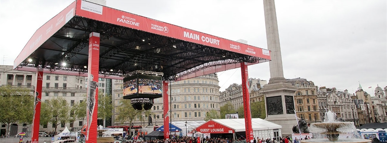 Turkish Airlines Euroleague Final Four Fan Zone a great success!