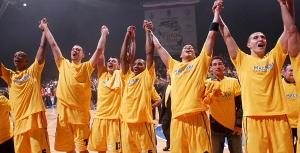 Maccabi, 2005 champ in Moscow