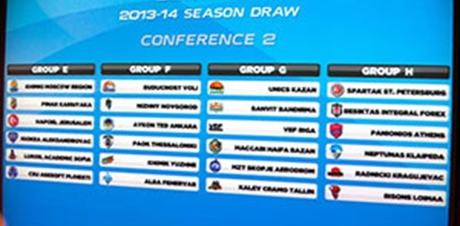 Post-draw analysis, comments: Group E