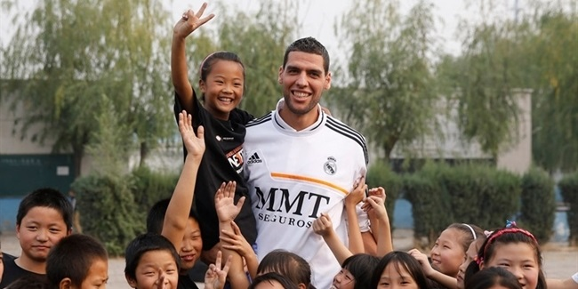 Real Madrid helps One Team land in China