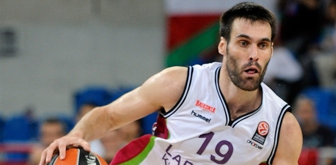 Laboral Kutxa: San Emeterio out three weeks