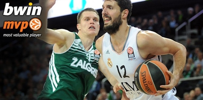 Regular Season Week 1 bwin MVP: Nikola Mirotic, Real Madrid