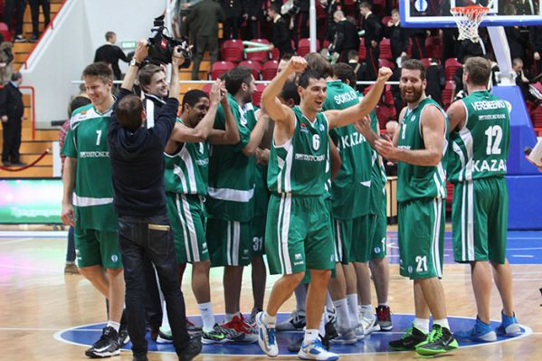 Unics Kazan celebrates - EC13 (photo unics.ru)