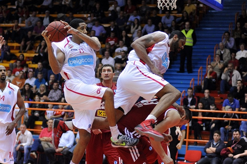 Devin Green - Belgacom Spirou - EC13 (photo Cedevita)