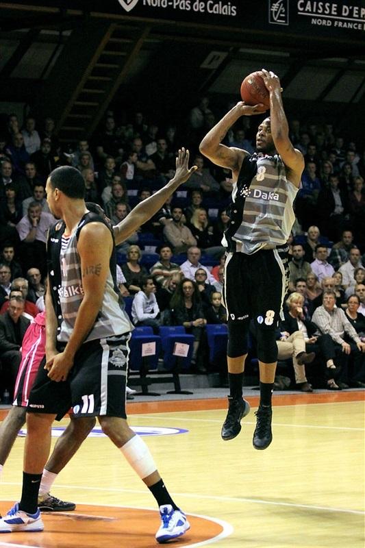 Juby Johnson - BCM Gravelines Dunkerque - EC13 (photo bcmbasket.com)
