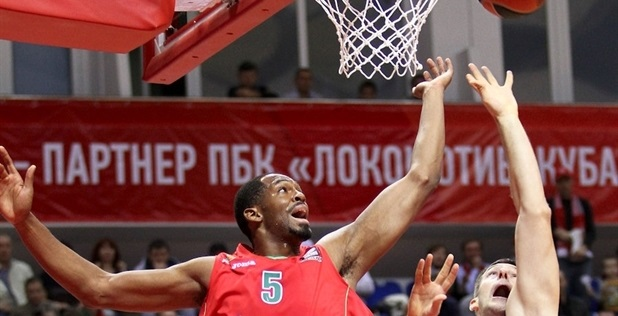 Derrick Brown - Lokomotiv Kuban - EC13
