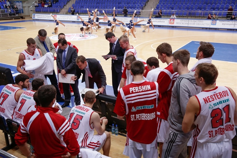 Spartak St. Petersburg in Time Out - EC13 (photo Spartak SPB)