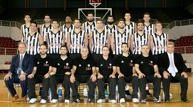 Paok thessaloniki welcome to 7days eurocup for Paok salonique basket