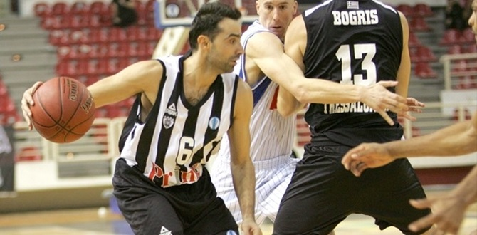 PAOK re-signs Charalampidis, Dedas