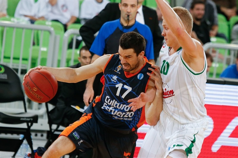 Rafa Martinez - Valencia Basket - EC13 (photo Union Olimpija - Anze Malovrh)
