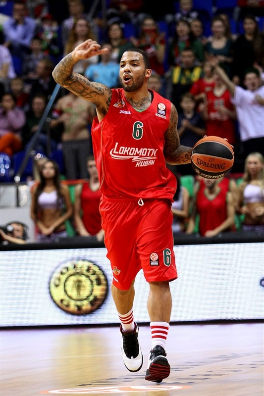 Marcus Williams - Lokomotiv Kuban - EB13