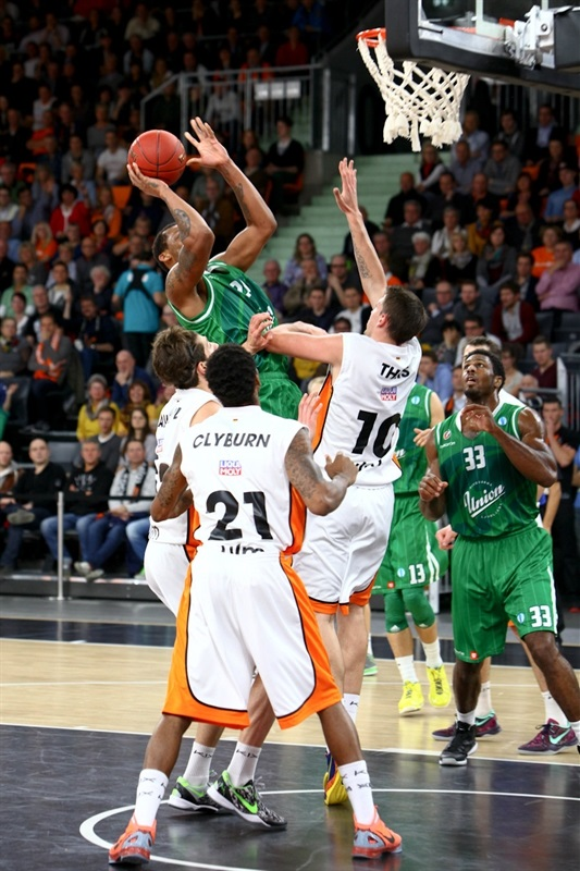 Kodi Augustus - Union Olimpija - EC13 (photo Ratiopharm Ulm)