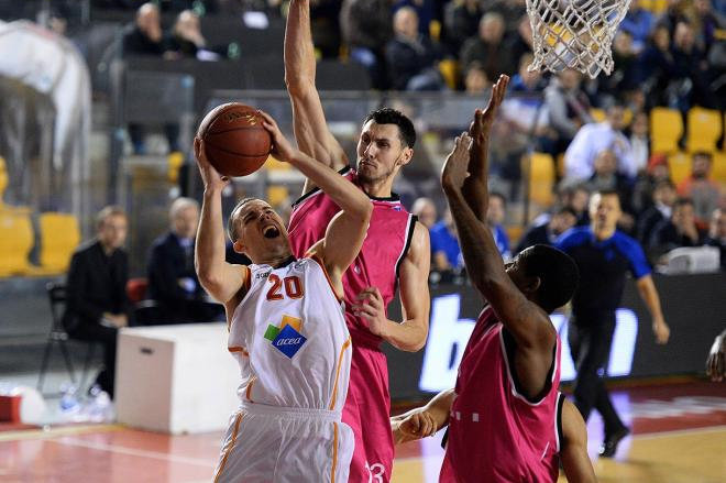 Jimmy Baron - Virtus Rome - EC13 (photo virtusroma.it - Ciamillo&Castoria)