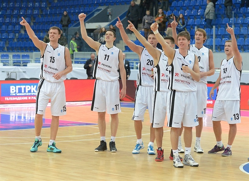 Players Nizhny Novgorod celebrates - EC13 (photo Nizhny Novgorod)