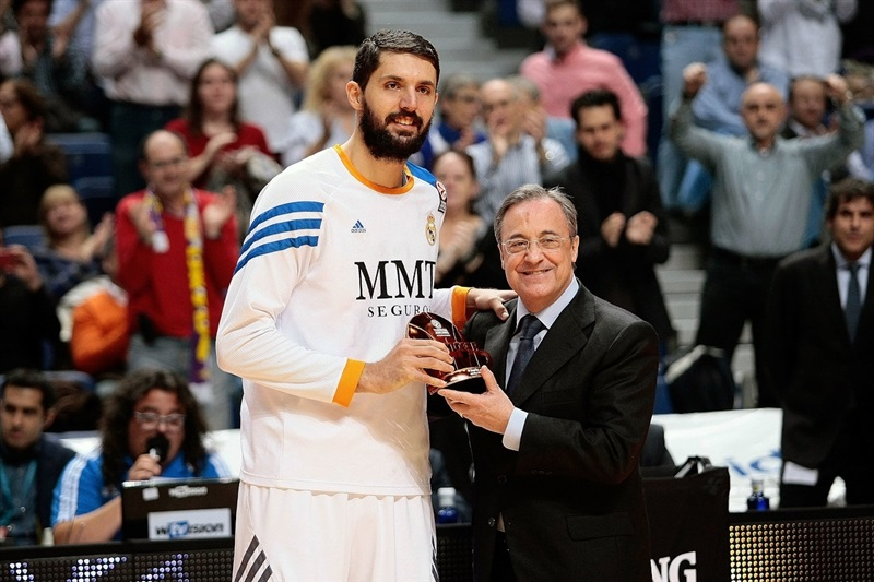 Nikola Mirotic - MVP October 2013 - Real Madrid - EB13